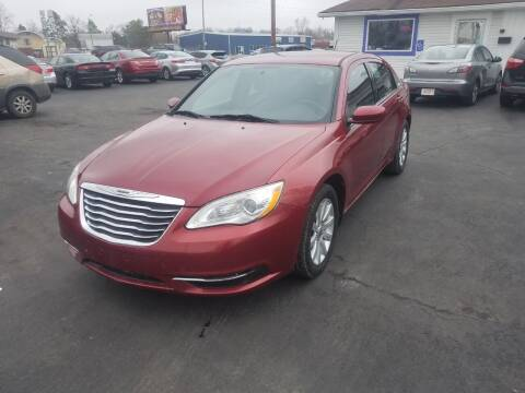 2012 Chrysler 200 for sale at Nonstop Motors in Indianapolis IN