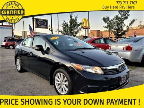 2012 Honda Civic for sale at AutoBank in Chicago IL