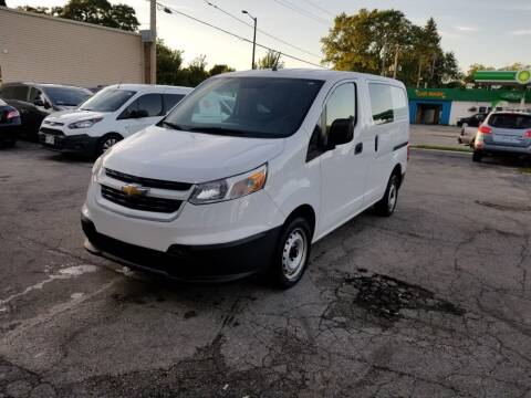 2016 Chevrolet City Express Cargo for sale at MOE MOTORS LLC in South Milwaukee WI