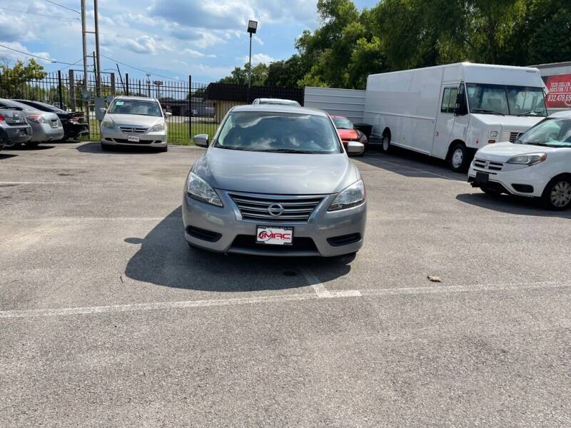 2014 Nissan Sentra for sale at JMAC AUTO SALES in Houston TX