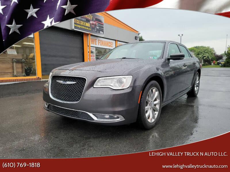 2015 Chrysler 300 for sale at Lehigh Valley Truck n Auto LLC. in Schnecksville PA