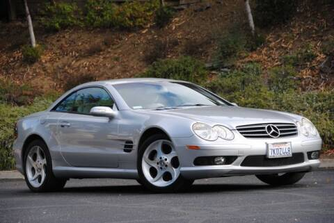 2004 Mercedes-Benz SL-Class for sale at VSTAR in Walnut Creek CA