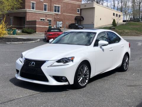 2015 Lexus IS 250 for sale at LARIN AUTO in Norwood MA