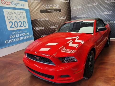 2013 Ford Mustang for sale at X Drive Auto Sales Inc. in Dearborn Heights MI