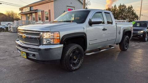2012 Chevrolet Silverado 1500 for sale at RBT Automotive LLC in Perry OH