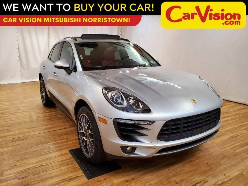 2017 Porsche Macan for sale at Car Vision Mitsubishi Norristown in Trooper PA