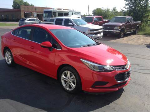 2017 Chevrolet Cruze for sale at Bruns & Sons Auto in Plover WI