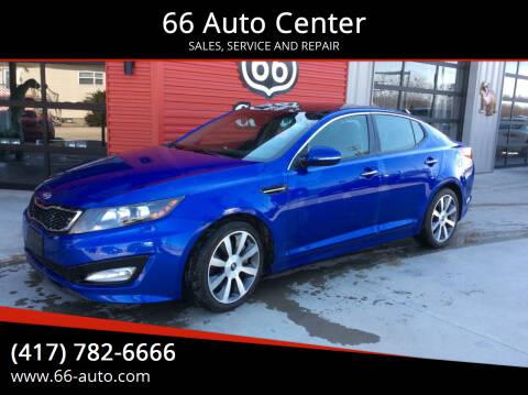 2012 Kia Optima for sale at 66 Auto Center in Joplin MO