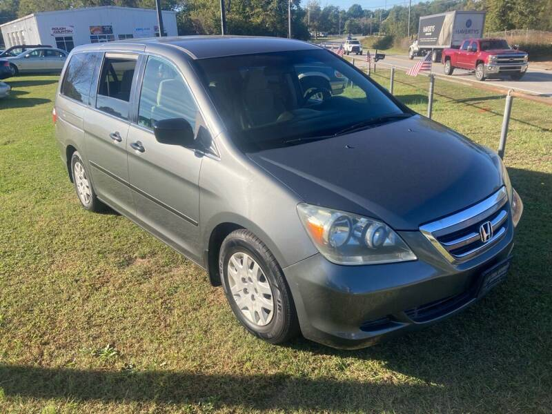 2007 Honda Odyssey for sale at UpCountry Motors in Taylors SC