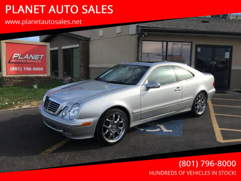 2002 Mercedes-Benz CLK for sale at PLANET AUTO SALES in Lindon UT