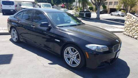 2013 BMW 5 Series for sale at In-House Auto Finance in Hawthorne CA