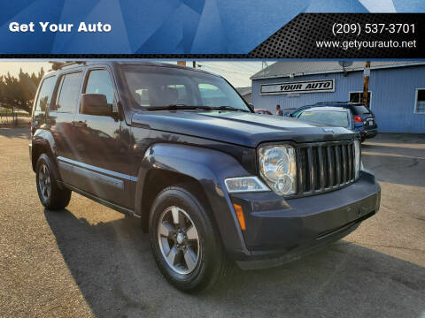 2008 Jeep Liberty for sale at Get Your Auto in Ceres CA
