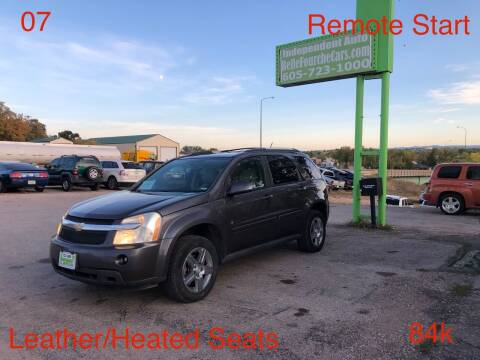 2007 Chevrolet Equinox for sale at Independent Auto in Belle Fourche SD