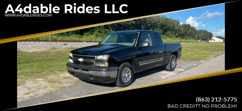 2006 Chevrolet Silverado 1500 for sale at A4dable Rides LLC in Haines City FL