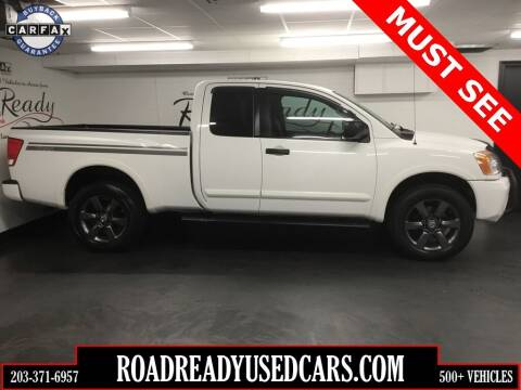 2012 Nissan Titan for sale at Road Ready Used Cars in Ansonia CT