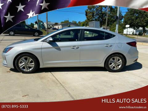 2019 Hyundai Elantra for sale at Hills Auto Sales in Salem AR