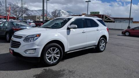 2017 Chevrolet Equinox for sale at PLANET AUTO SALES in Lindon UT