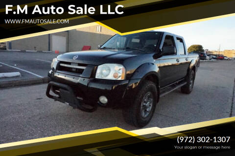 2004 Nissan Frontier for sale at F.M Auto Sale LLC in Dallas TX
