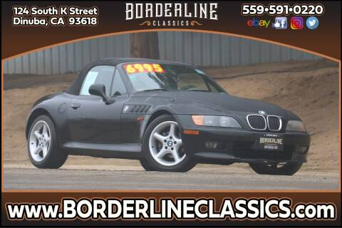 1998 BMW Z3 for sale at Borderline Classics in Dinuba CA