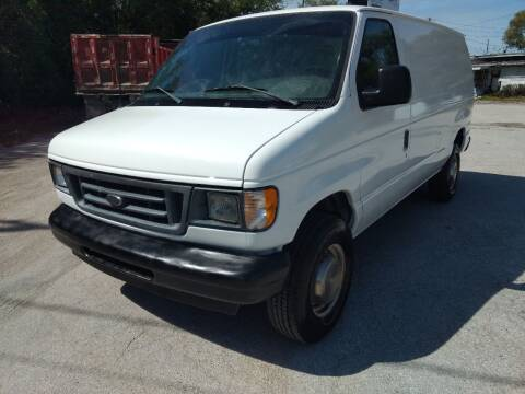 2003 Ford E-Series Cargo for sale at Autos by Tom in Largo FL