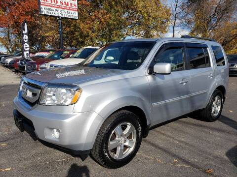 2010 Honda Pilot for sale at Real Deal Auto Sales in Manchester NH