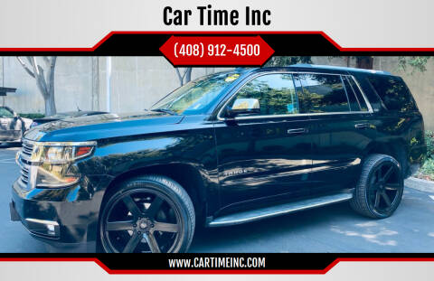 2015 Chevrolet Tahoe for sale at Car Time Inc in San Jose CA