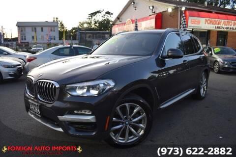 2019 BMW X3 for sale at www.onlycarsnj.net in Irvington NJ