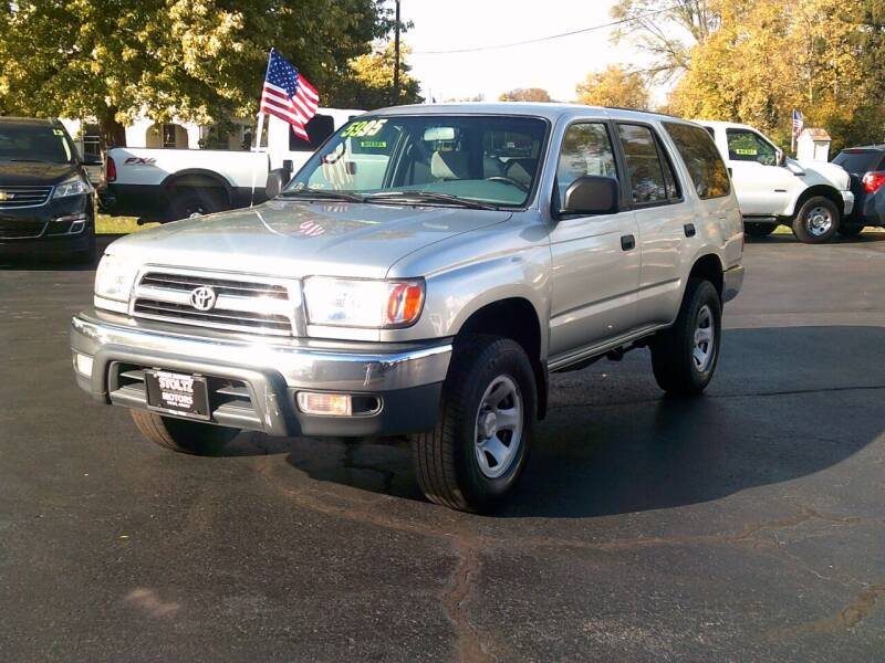 2000 Toyota 4Runner for sale at Stoltz Motors in Troy OH