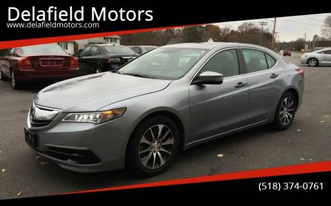 2015 Acura TLX for sale at Delafield Motors in Glenville NY