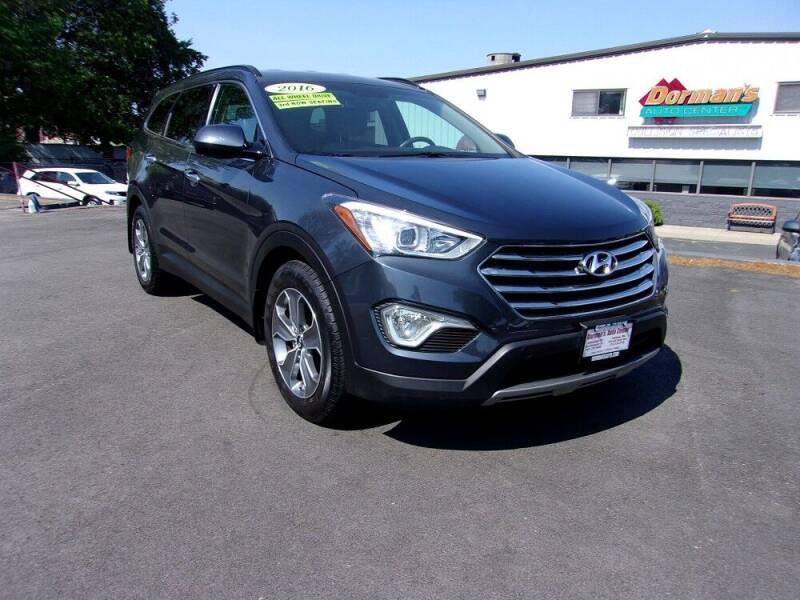 2016 Hyundai Santa Fe for sale at Dorman's Auto Center inc. in Pawtucket RI