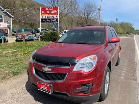 2013 Chevrolet Equinox for sale at Korz Auto Farm in Kansas City KS