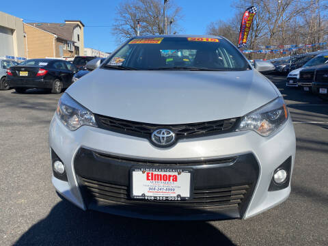 2015 Toyota Corolla for sale at Elmora Auto Sales in Elizabeth NJ
