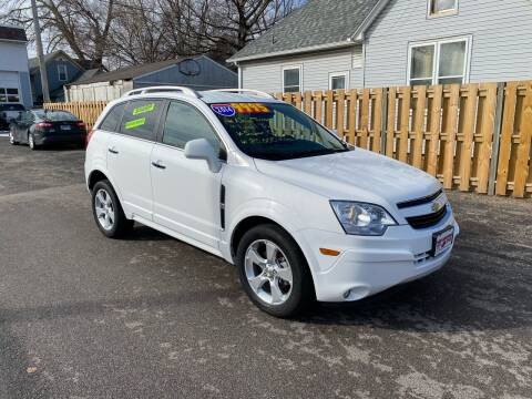 2014 Chevrolet Captiva Sport for sale at PEKIN DOWNTOWN AUTO SALES in Pekin IL