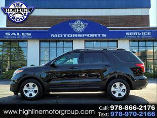 2011 Ford Explorer for sale at Highline Group Motorsports in Lowell MA