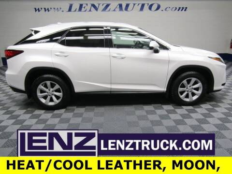 2017 Lexus RX 350 for sale at LENZ TRUCK CENTER in Fond Du Lac WI