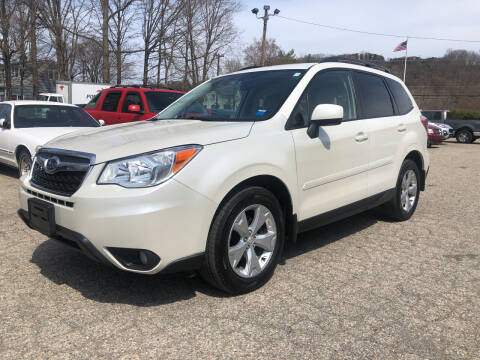 2015 Subaru Forester for sale at Used Cars 4 You in Serving NY