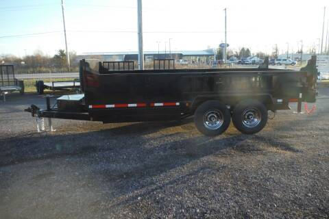2021 Quality Steel 16 FT DUMP for sale at Bryan Auto Depot in Bryan OH
