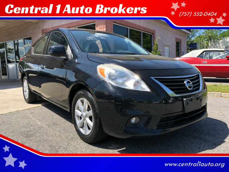 2014 Nissan Versa for sale at Central 1 Auto Brokers in Virginia Beach VA