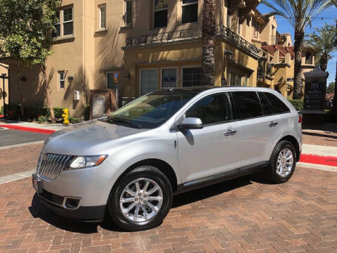 2013 Lincoln MKX for sale at R P Auto Sales in Anaheim CA