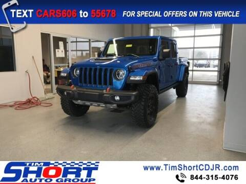 2020 Jeep Gladiator for sale at Tim Short Chrysler in Morehead KY