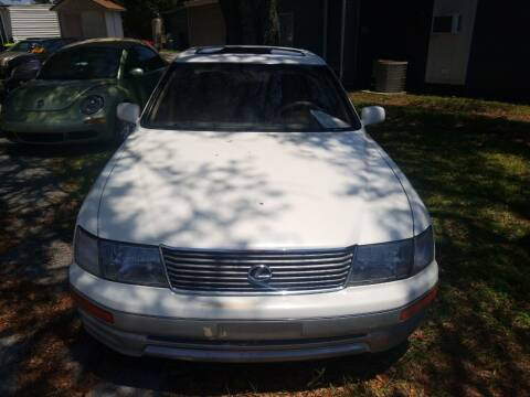 1996 Lexus LS 400 for sale at Webb's Automotive Inc 11 in Morehead City NC
