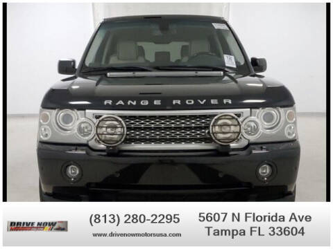 2008 Land Rover Range Rover for sale at Drive Now Motors USA in Tampa FL