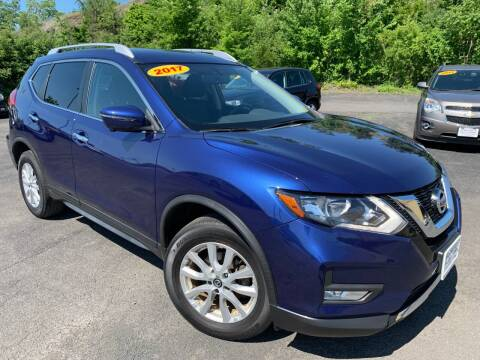 2017 Nissan Rogue for sale at Bob Karl's Sales & Service in Troy NY