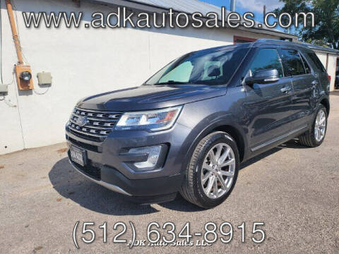 2016 Ford Explorer for sale at ADK AUTO SALES LLC in Austin TX