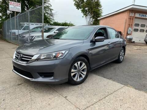2015 Honda Accord for sale at Seaview Motors and Repair LLC in Bridgeport CT