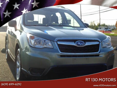 2016 Subaru Forester for sale at RT 130 Motors in Burlington NJ