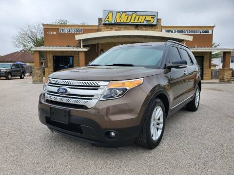 2015 Ford Explorer for sale at A MOTORS SALES AND FINANCE - 6226 San Pedro Lot in San Antonio TX