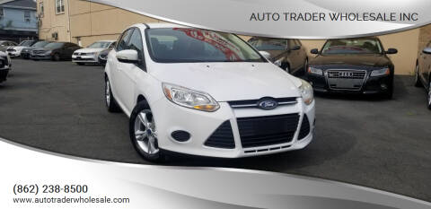 2014 Ford Focus for sale at Auto Trader Wholesale Inc in Saddle Brook NJ
