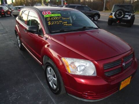 2008 Dodge Caliber for sale at River City Auto Sales in Cottage Hills IL