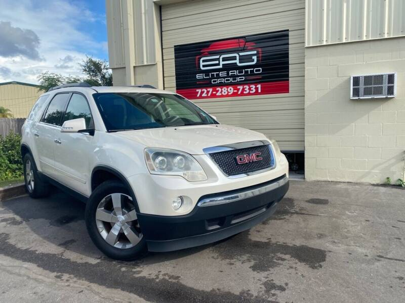 2012 GMC Acadia for sale at Elite Auto Group LLC in Pinellas Park FL